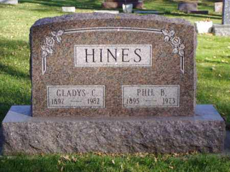 HINES, PHIL B. - Minnehaha County, South Dakota | PHIL B. HINES - South Dakota Gravestone Photos