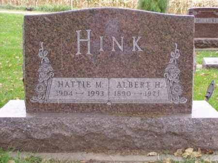 HINK, ALBERT H. - Minnehaha County, South Dakota | ALBERT H. HINK - South Dakota Gravestone Photos