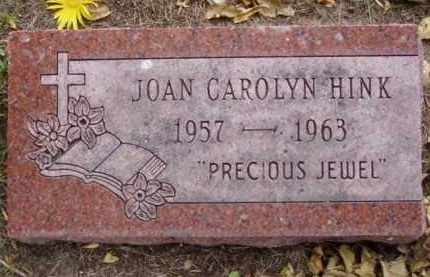 HINK, JOAN CAROLYN - Minnehaha County, South Dakota | JOAN CAROLYN HINK - South Dakota Gravestone Photos