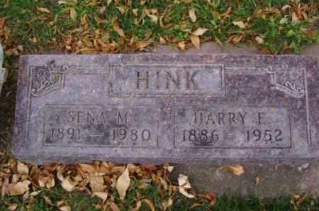 HINK, SENA M. - Minnehaha County, South Dakota | SENA M. HINK - South Dakota Gravestone Photos