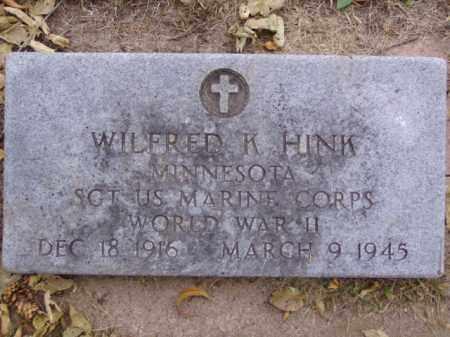 HINK, WINLFRED K. - Minnehaha County, South Dakota | WINLFRED K. HINK - South Dakota Gravestone Photos