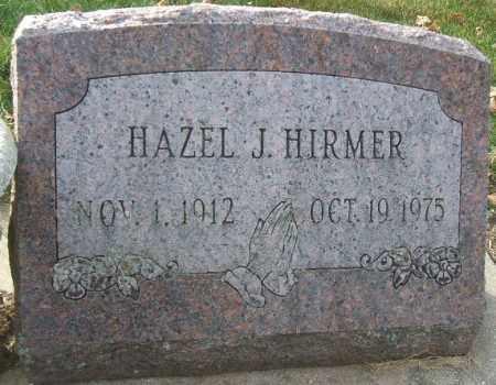 HIRMER, HAZEL J. - Minnehaha County, South Dakota | HAZEL J. HIRMER - South Dakota Gravestone Photos
