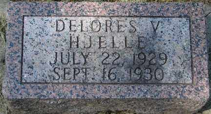 HJELLE, DELORES V. - Minnehaha County, South Dakota | DELORES V. HJELLE - South Dakota Gravestone Photos
