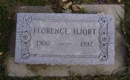 HJORT, FLORENCE - Minnehaha County, South Dakota | FLORENCE HJORT - South Dakota Gravestone Photos
