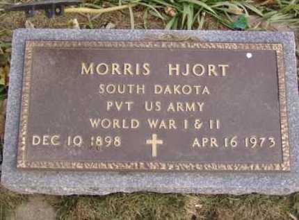 HJORT, MORRIS - Minnehaha County, South Dakota | MORRIS HJORT - South Dakota Gravestone Photos