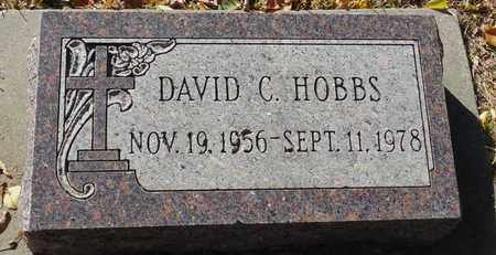 HOBBS, DAVID C. - Minnehaha County, South Dakota | DAVID C. HOBBS - South Dakota Gravestone Photos