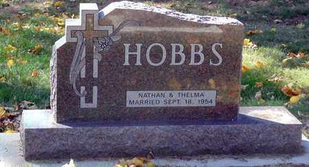HOBBS, HEADSTONE - Minnehaha County, South Dakota | HEADSTONE HOBBS - South Dakota Gravestone Photos