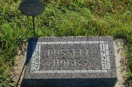 HOBBS, RUSSELL - Minnehaha County, South Dakota | RUSSELL HOBBS - South Dakota Gravestone Photos