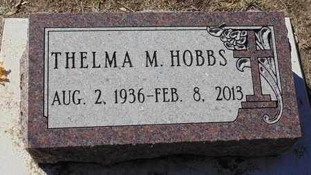 HOBBS, THELMA M. - Minnehaha County, South Dakota | THELMA M. HOBBS - South Dakota Gravestone Photos