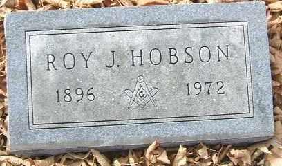 HOBSON, ROY J. - Minnehaha County, South Dakota | ROY J. HOBSON - South Dakota Gravestone Photos