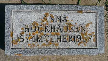 HOCKHAUSEN, ANNA - Minnehaha County, South Dakota | ANNA HOCKHAUSEN - South Dakota Gravestone Photos