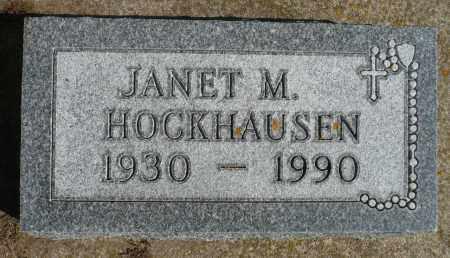 HOCKHAUSEN, JANET M. - Minnehaha County, South Dakota   JANET M. HOCKHAUSEN - South Dakota Gravestone Photos