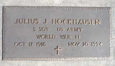 HOCKHAUSEN, JULIUS J. (WWII) - Minnehaha County, South Dakota   JULIUS J. (WWII) HOCKHAUSEN - South Dakota Gravestone Photos