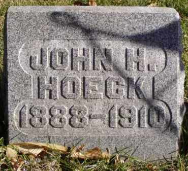 HOECK, JOHN H. - Minnehaha County, South Dakota | JOHN H. HOECK - South Dakota Gravestone Photos