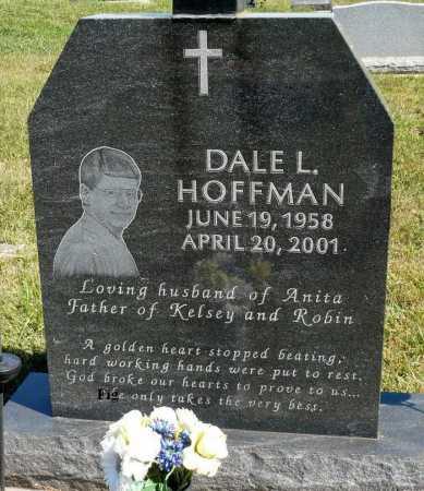 HOFFMAN, DALE L. - Minnehaha County, South Dakota | DALE L. HOFFMAN - South Dakota Gravestone Photos
