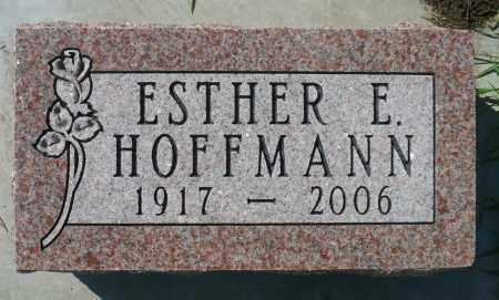 HOFFMANN, ESTHER E. - Minnehaha County, South Dakota | ESTHER E. HOFFMANN - South Dakota Gravestone Photos