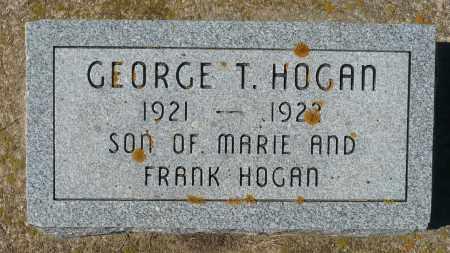 HOGAN, GEORGE T. - Minnehaha County, South Dakota | GEORGE T. HOGAN - South Dakota Gravestone Photos