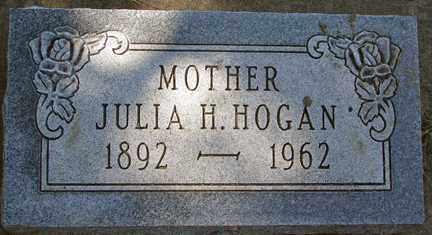 HOGAN, JULIA H. - Minnehaha County, South Dakota | JULIA H. HOGAN - South Dakota Gravestone Photos