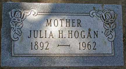 HOGAN, JULIA H. - Minnehaha County, South Dakota | JULIA H. HOGAN - South Dakota Gravestone Photos