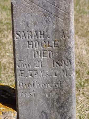 HOGLE, SARAH A. - Minnehaha County, South Dakota | SARAH A. HOGLE - South Dakota Gravestone Photos