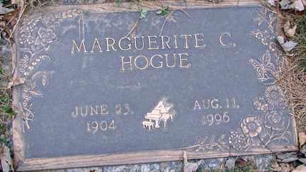 HOGUE, MARGUERITE C. - Minnehaha County, South Dakota | MARGUERITE C. HOGUE - South Dakota Gravestone Photos