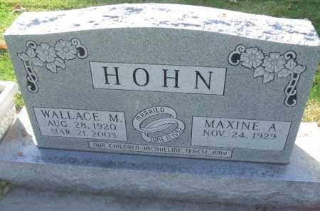 HOHN, MAXINE A. - Minnehaha County, South Dakota | MAXINE A. HOHN - South Dakota Gravestone Photos