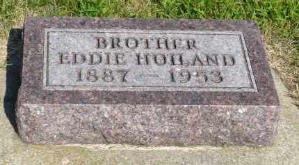 HOILAND, EDDIE - Minnehaha County, South Dakota | EDDIE HOILAND - South Dakota Gravestone Photos