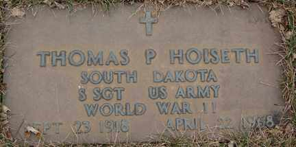 HOISETH, THOMAS P. (WWII) - Minnehaha County, South Dakota | THOMAS P. (WWII) HOISETH - South Dakota Gravestone Photos