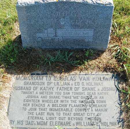 HOLIWAY, DOUGLAS VAN - Minnehaha County, South Dakota | DOUGLAS VAN HOLIWAY - South Dakota Gravestone Photos