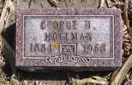 HOLLMAN, GEORGE HENRY - Minnehaha County, South Dakota | GEORGE HENRY HOLLMAN - South Dakota Gravestone Photos
