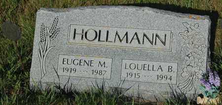 HOLLMAN, LOUELLA B. - Minnehaha County, South Dakota | LOUELLA B. HOLLMAN - South Dakota Gravestone Photos