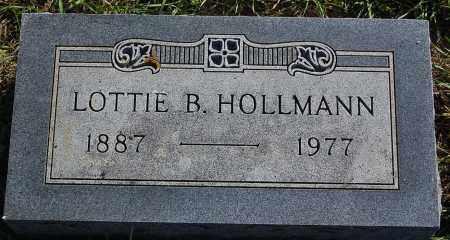 HOLLMANN, LOTTIE B. - Minnehaha County, South Dakota   LOTTIE B. HOLLMANN - South Dakota Gravestone Photos