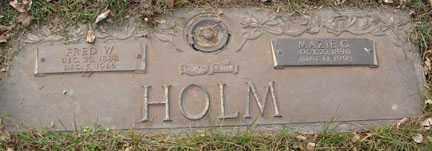 CHRISTENSEN HOLM, MAZIE GLADYS - Minnehaha County, South Dakota | MAZIE GLADYS CHRISTENSEN HOLM - South Dakota Gravestone Photos
