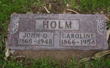 HOLM, JOHN O. - Minnehaha County, South Dakota | JOHN O. HOLM - South Dakota Gravestone Photos