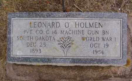 HOLMEN, LEONARD OCTAVIOUS - Minnehaha County, South Dakota | LEONARD OCTAVIOUS HOLMEN - South Dakota Gravestone Photos