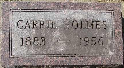 HOLMES, CARRIE - Minnehaha County, South Dakota | CARRIE HOLMES - South Dakota Gravestone Photos