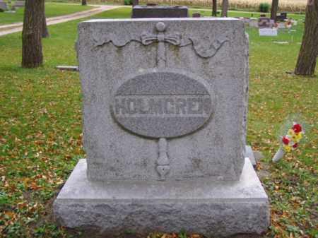 HOLMGREN, FAMILY MARKER - Minnehaha County, South Dakota   FAMILY MARKER HOLMGREN - South Dakota Gravestone Photos