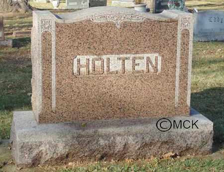 HOLTEN, HEADSTONE - Minnehaha County, South Dakota | HEADSTONE HOLTEN - South Dakota Gravestone Photos