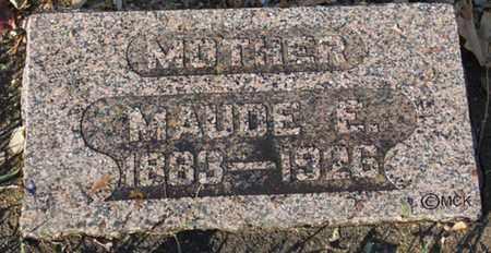 HOLTEN, MAUDE E. - Minnehaha County, South Dakota   MAUDE E. HOLTEN - South Dakota Gravestone Photos