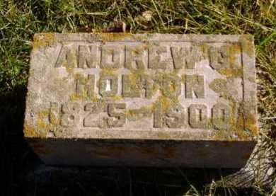 HOLTON, ANDREW G. - Minnehaha County, South Dakota | ANDREW G. HOLTON - South Dakota Gravestone Photos