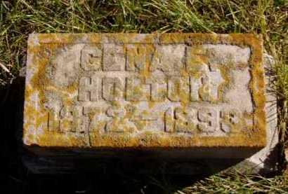 HOLTON, GENA E. - Minnehaha County, South Dakota   GENA E. HOLTON - South Dakota Gravestone Photos