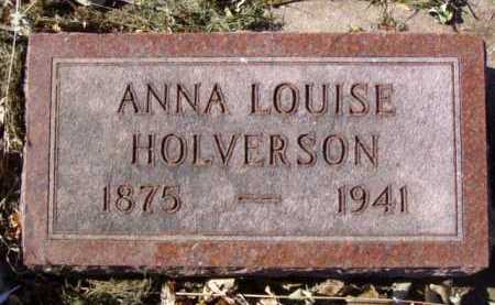 HOLVERSON, ANNA LOUISE - Minnehaha County, South Dakota | ANNA LOUISE HOLVERSON - South Dakota Gravestone Photos