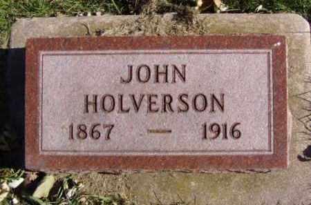 HOLVERSON, JOHN - Minnehaha County, South Dakota | JOHN HOLVERSON - South Dakota Gravestone Photos