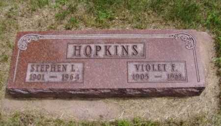 HOPKINS, STEPHEN L. - Minnehaha County, South Dakota | STEPHEN L. HOPKINS - South Dakota Gravestone Photos