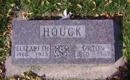 HOUCK, ELIZABETH - Minnehaha County, South Dakota   ELIZABETH HOUCK - South Dakota Gravestone Photos