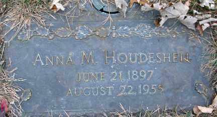 HOUDESHELL, ANNA M. - Minnehaha County, South Dakota   ANNA M. HOUDESHELL - South Dakota Gravestone Photos