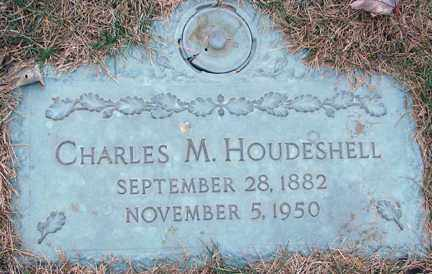 HOUDESHELL, CHARLES M. - Minnehaha County, South Dakota | CHARLES M. HOUDESHELL - South Dakota Gravestone Photos