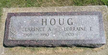 HOUG, CLARENCE A. - Minnehaha County, South Dakota   CLARENCE A. HOUG - South Dakota Gravestone Photos
