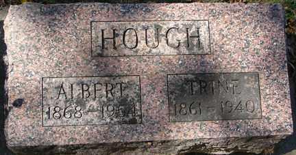 HOUGH, ALBERT - Minnehaha County, South Dakota   ALBERT HOUGH - South Dakota Gravestone Photos