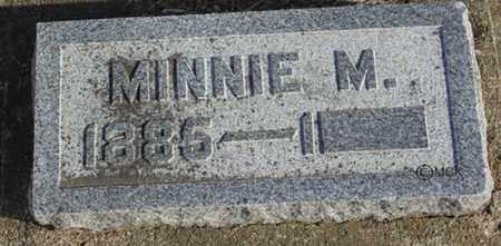 HOUGH, MINNIE M. - Minnehaha County, South Dakota | MINNIE M. HOUGH - South Dakota Gravestone Photos